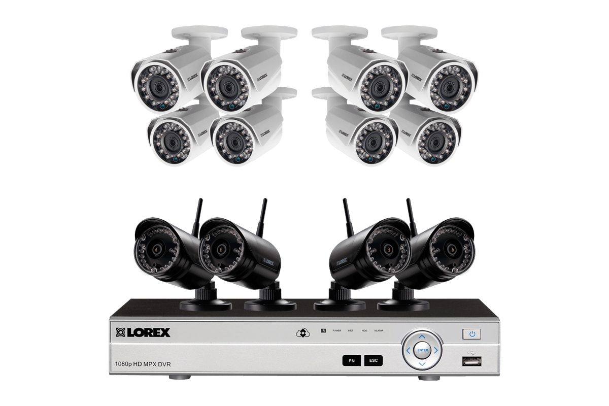 Outdoor house security camera systems help avoid damage for Best buy security systems