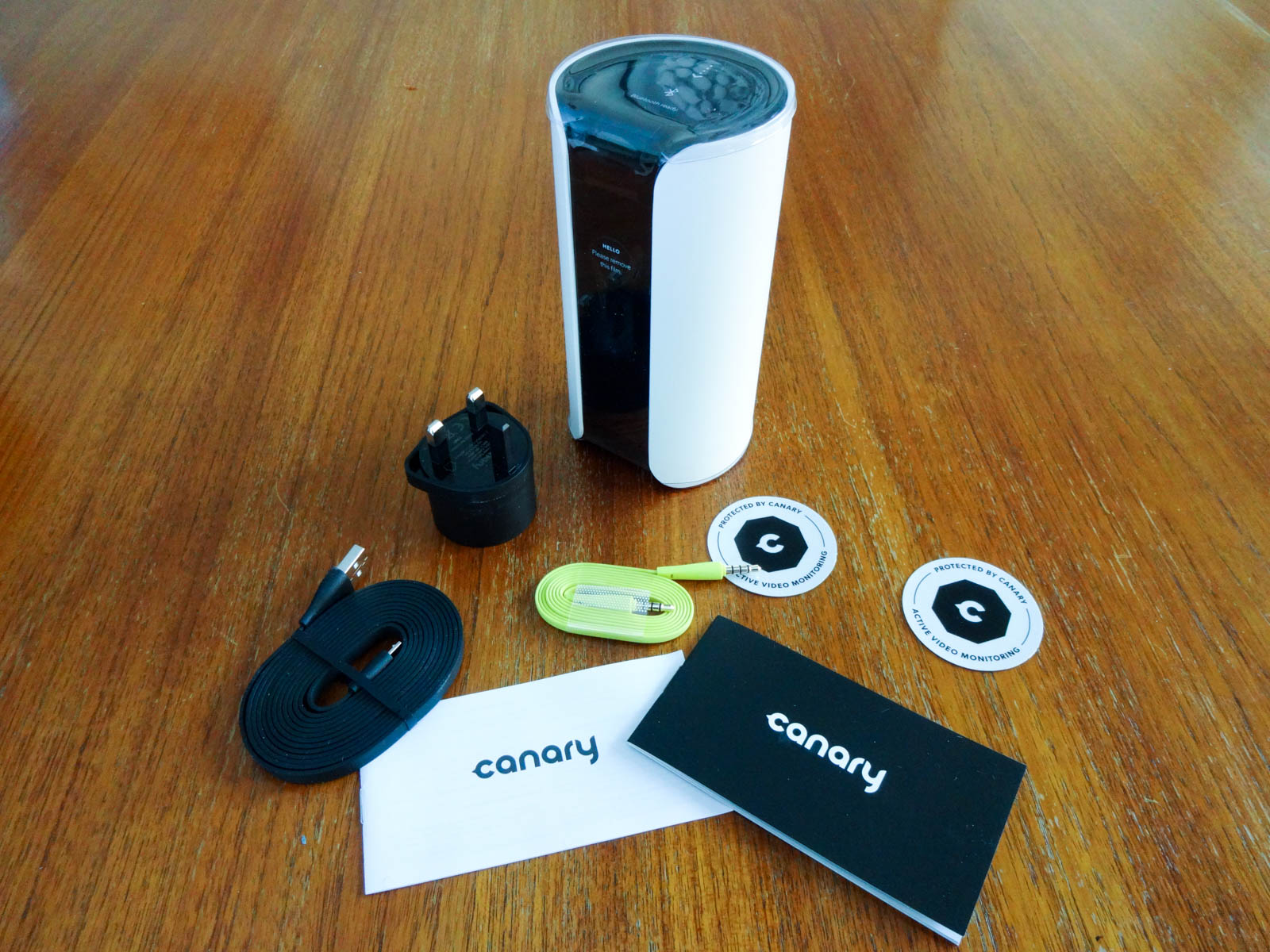 Canary home secruity device review