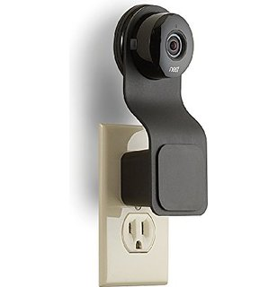 nest cam plugged into wall