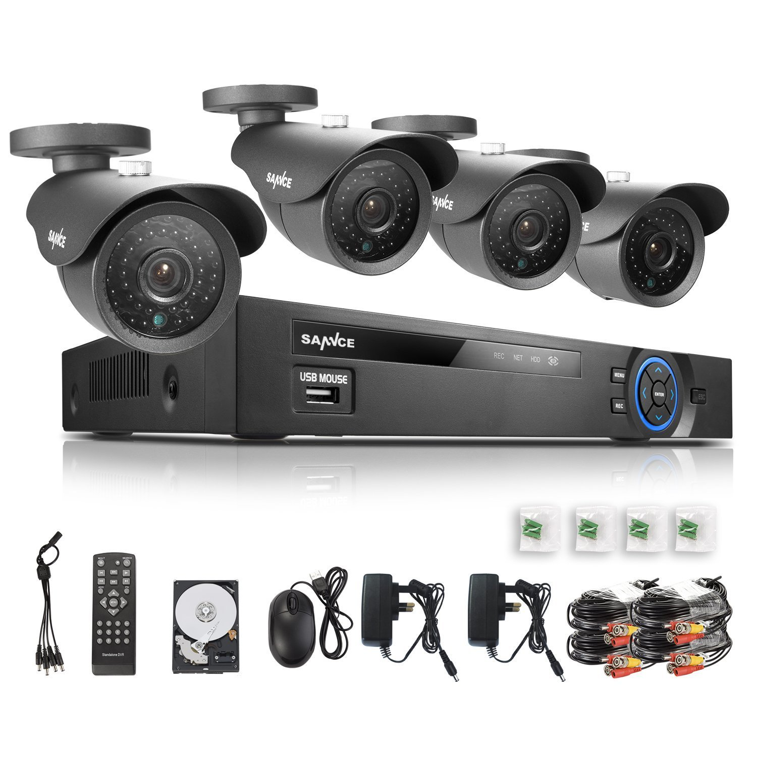 Budget All-In-One Security Camera Kit -SANNCE CCTV - Best